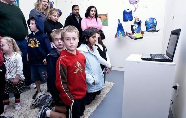 Treehut's first Art exhibition